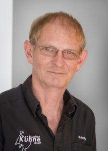 Teiledienstleiter Ulrich Ehlert